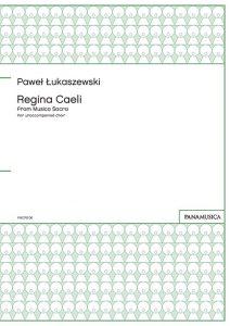 「Regina Caeli」 from Musica Sacra for unaccompanied choir