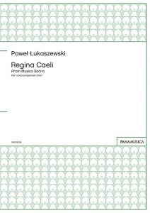 「Regina Caeli」 from Musica Sacra for unaccompanied choir