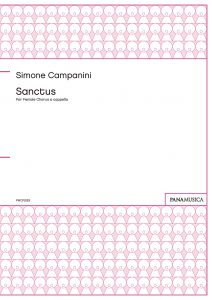 Simone Campanini Sanctus for Female Chorus a cappella